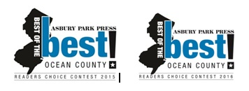 Thank you for Voting us the Best Real Estate Agency in Ocean County in 2015 and 2016 in the Asbury Park Press Reader's Choice Awards